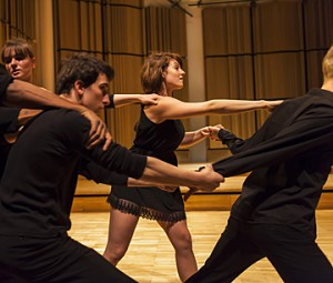 atelier XX-21 et département danse © B. Adilon