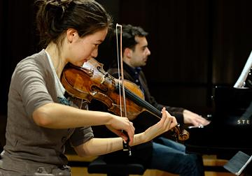 Duo violon et piano © B. Adilon