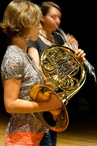 Duo cor et hautbois © B. Adilon