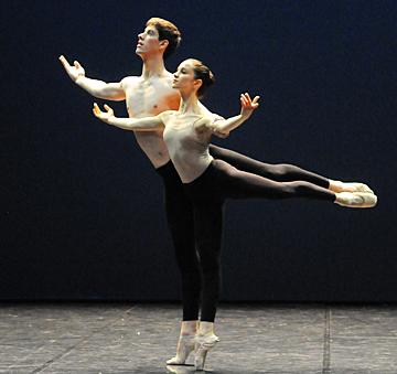 Le jeune ballet © C. Ganet
