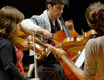 Trio à cordes © B. Adilon