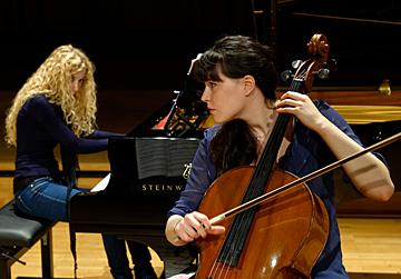 Duo violoncelle et piano © B. Adilon