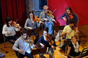 Orchestre musique ancienne  © B. Adilon