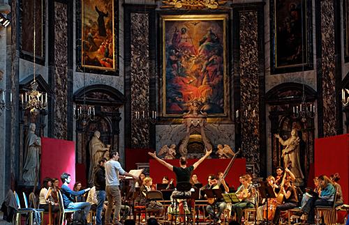 Orchestre du département de musique ancienne © B. Adilon