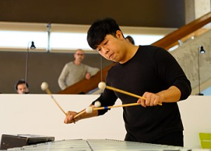 Hyoung Kwon Gil, percussions