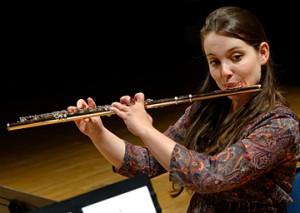 Eva-Nina Kozmus, flûte