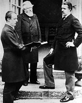 Charles Bordes, Alexandre Guilmant, Vincent d'Indy, fondateurs de la Schola cantorum © Bloud & Gay, Paris