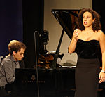 Adèle Charvet et Florian Caroubi, duo mezzo-soprano et piano