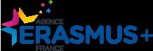 agence erasmus+ fr logo