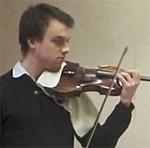 Olivier Robin, violon