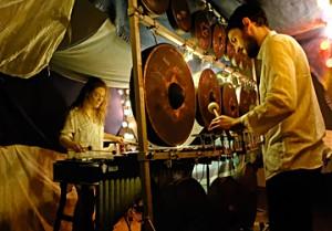 Percussions Laboratoire Scène/recherchE