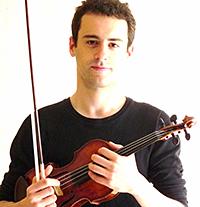 Etienne Espagne, violon