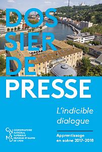 Dossier de presse 17-18 couverture