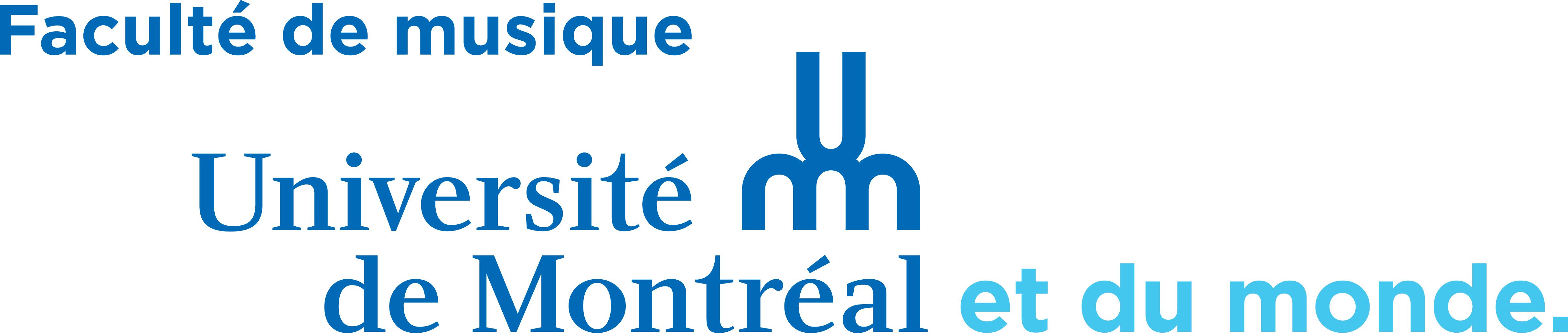 Logo Faculté de Musique Montréal