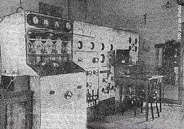 Emetteur de radio Lyon la Doua - 1931