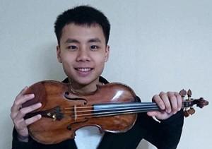Tienren Xie, violon