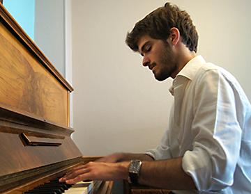 Rodolphe Lospied, piano
