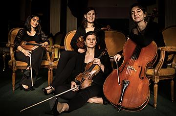 Quatuor Akilone, par Damien Richard
