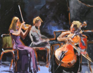 Trio cordes et piano