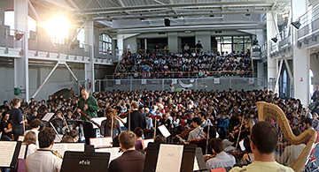 EAC et l'orchestre
