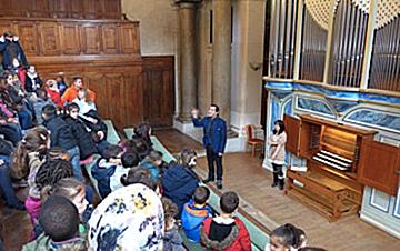 EAC et la classe d'orgue