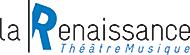 Logo La Renaissance Noir Bleu
