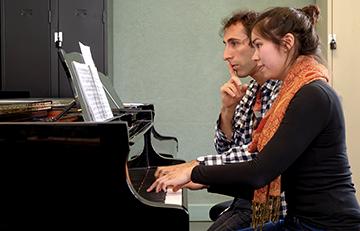 Sebastien Vichard et piano