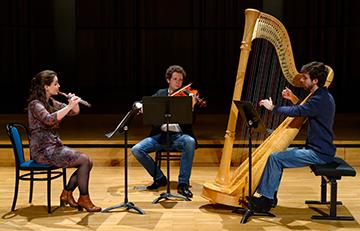 trio flute alto harpe