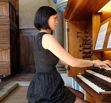 Fanny Cousseau, orgue