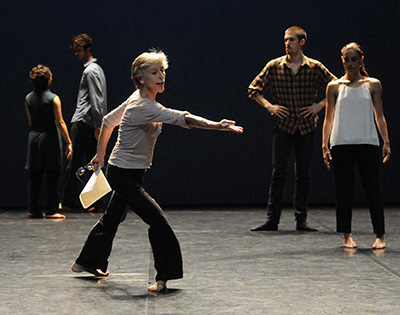 Annr Martin, danse contemporaine