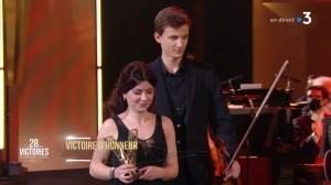 Valentin Seignez-Bacquet et Sarah Khavand